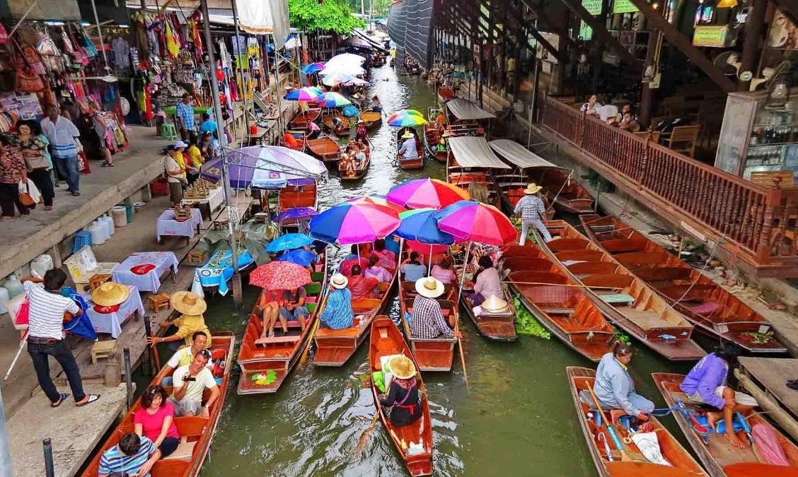 Asia Travel Book: 泰國不能錯過的水上市場,你去過幾個了?