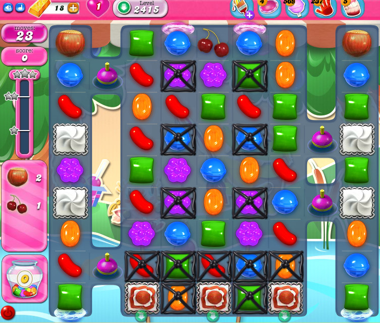 Candy Crush Saga level 2415