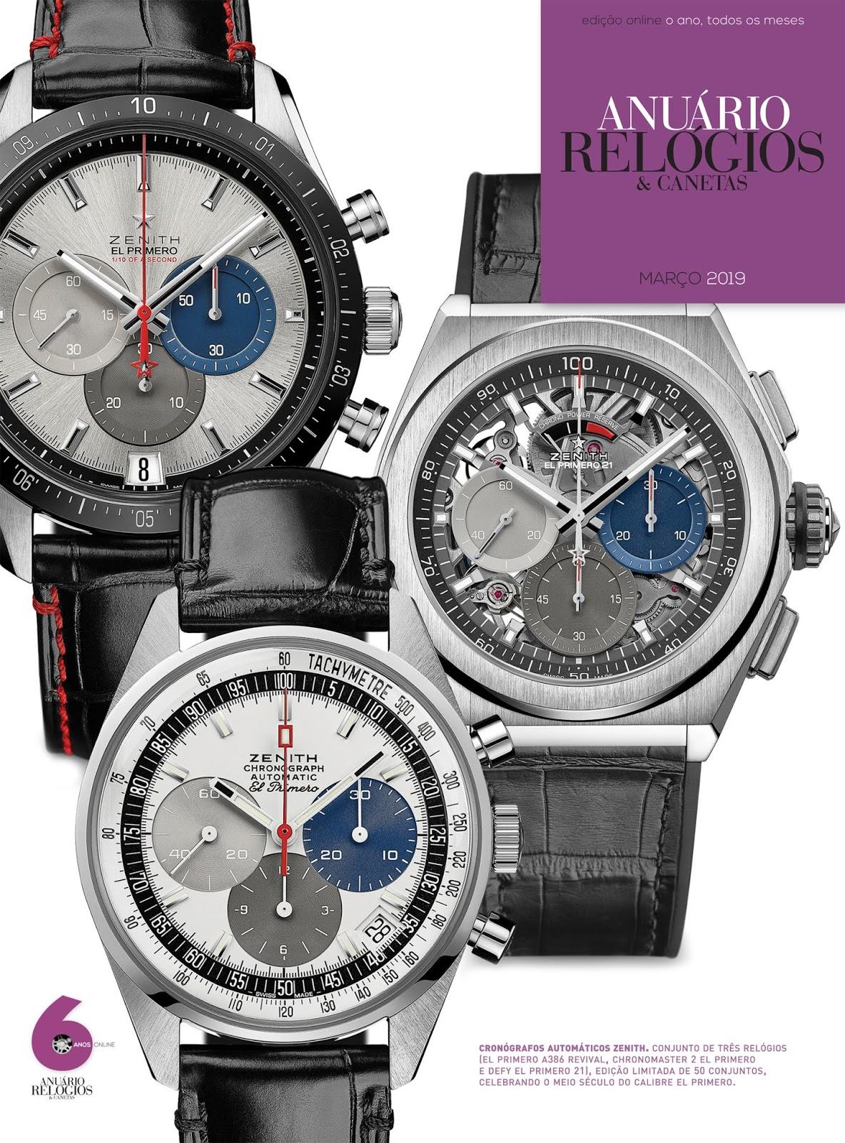 48271269cff Estação Cronográfica  Relógios   Canetas online Março já disponível