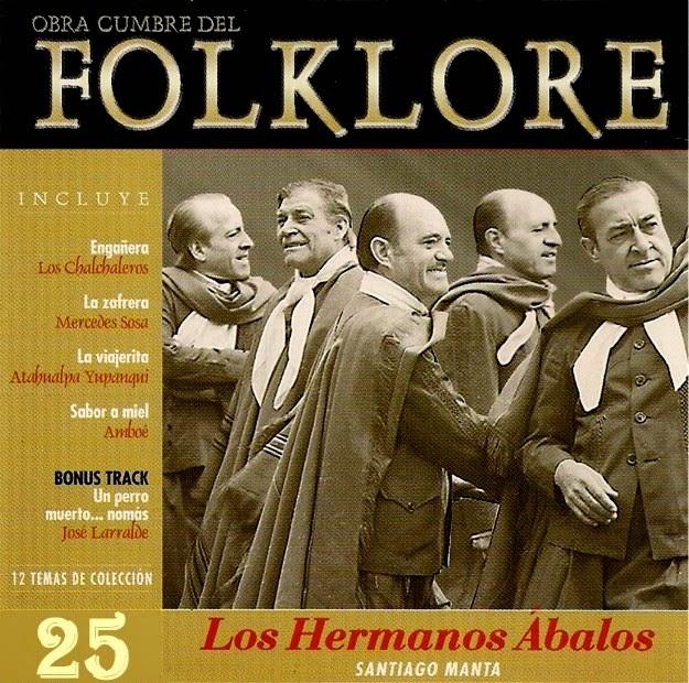 obras cumbres del folklore volumen 25 tapa