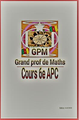 Télécharger cours de mathématiques 6ème APC