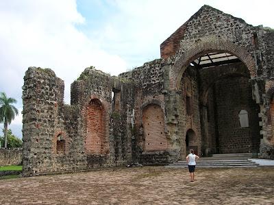 Convento concepción, Panamá Viejo, Panamá, round the world, La vuelta al mundo de Asun y Ricardo, mundoporlibre.com
