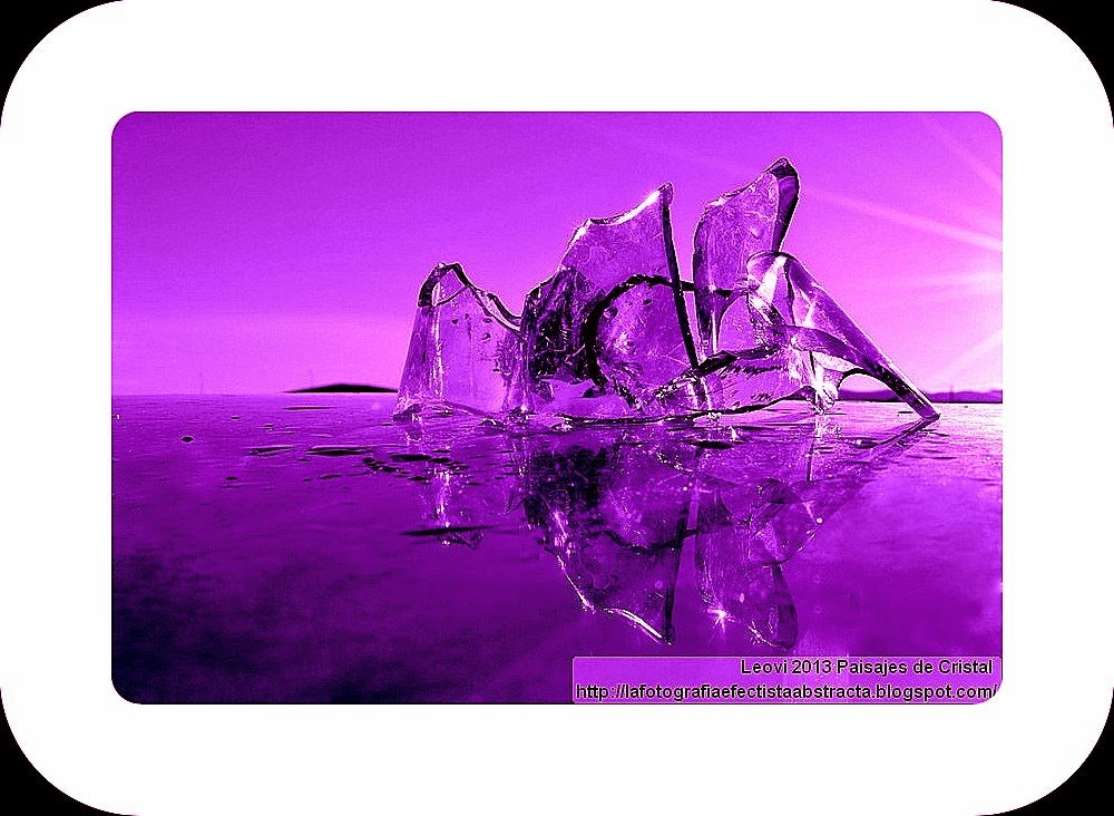 Abstract Photo 3026 Crystal Landscape 142  Your seduction of sharp vanities