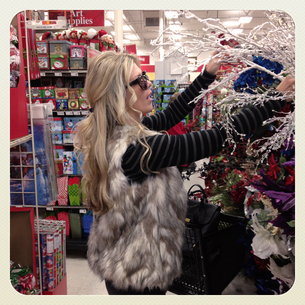 shopping at michaels