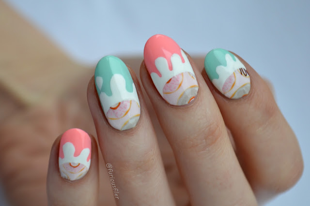 donuts doughnuts nail art pastel sweet furious filer