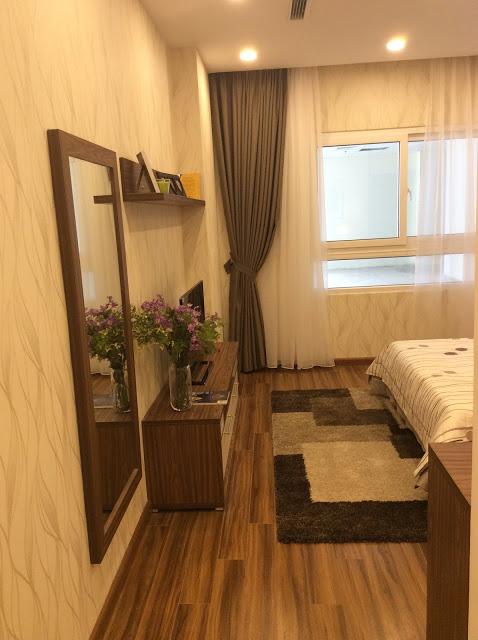 Phòng ngủ chung cư FLC Garden City