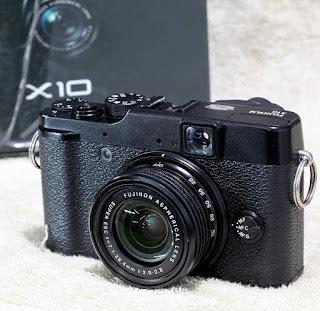 Jual Kamera Fujifilm X10 Bekas