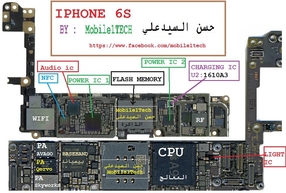 Iphone 6s Schematic