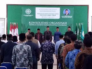 Penyambung Lidah Ummat, Najib Hamid for DPD Jatim
