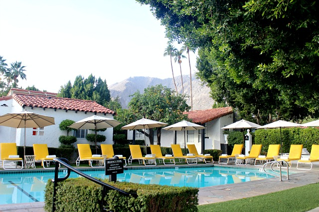 The Avalon Palm Springs- colourful travel diary, where to eat, what to do,