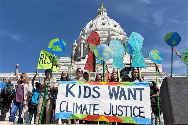 Global Climate Change Protests & Local Business