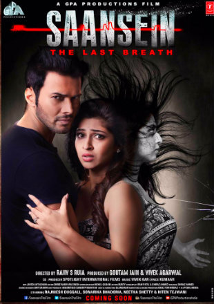 Poster of Saansein 2016 Full Hindi Movie Download HDRip 480p 300Mb