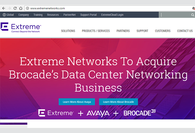Converge! Network Digest: Extreme to Acquire Brocade's