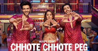 Chhote chhote peg bana re baby Song Lyrics
