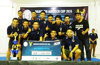 Futsal FPP Undip Juara 3 Brawijaya Agritech Cup
