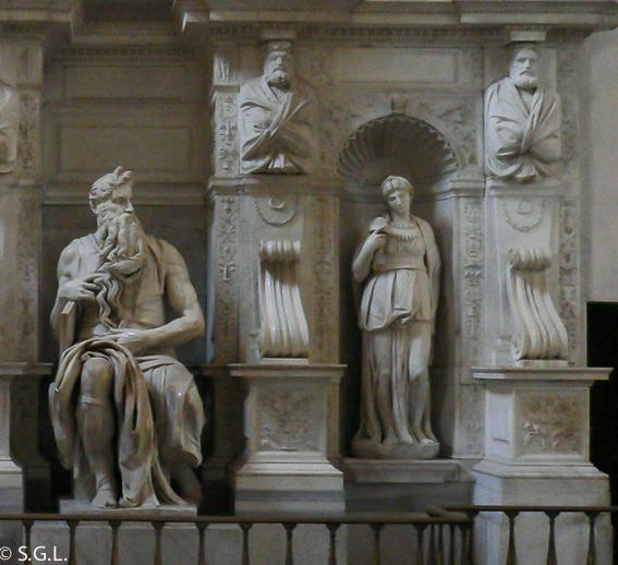 Moises de Miguel Angel. 5 dias en Roma