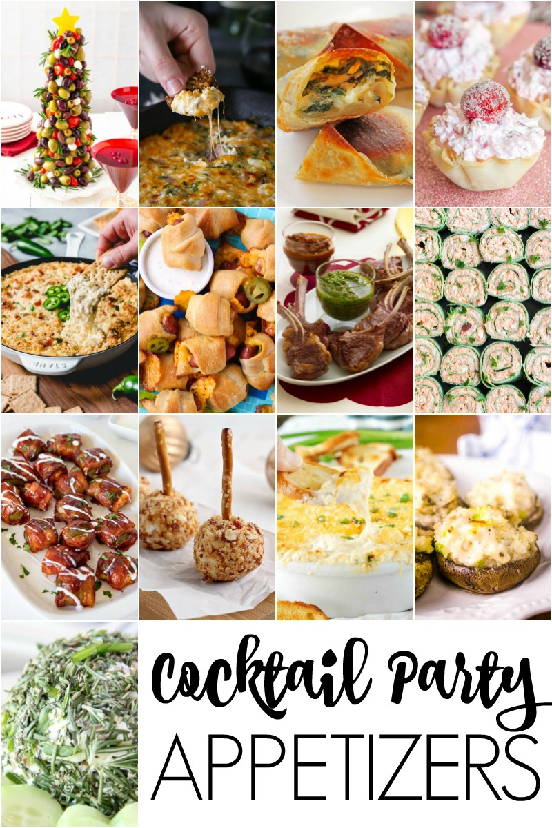 Cocktail Party Appetizers You Will Love | The Two Bite Club | #appetizers #partyfood