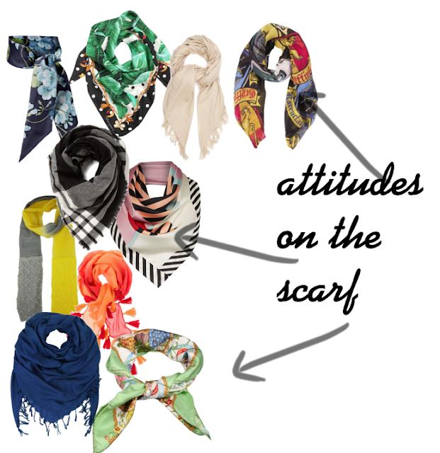 attitudes on the scarf. postaw na apaszkę