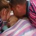 Mamá y papá solo querían despedirse, pero lo que su hijita casi muerta hizo dejó a todos sin palabras