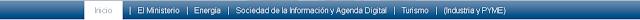barra del menu navegacion