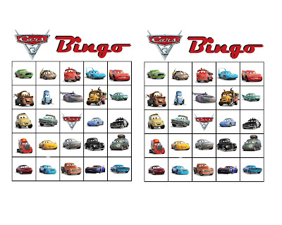 cars 3 printable games
