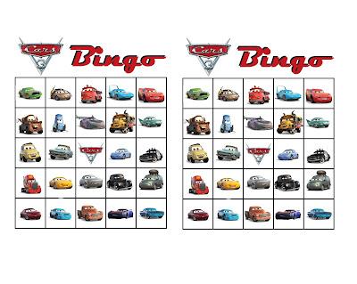 cars 3 printable games
