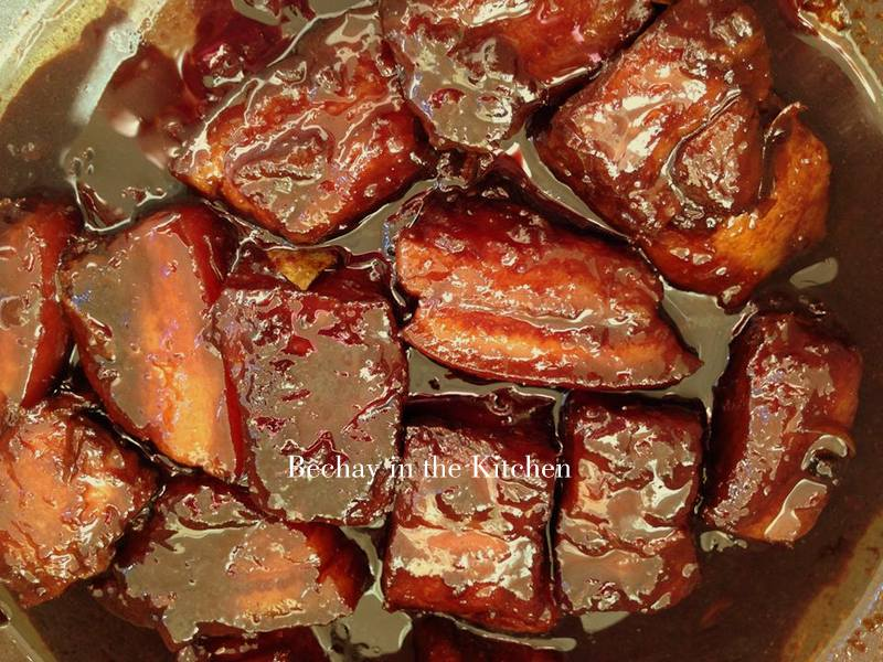Bechay and Food: HUMBA or Braised Pork Belly