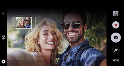 Fitur selfie flash Samsung Galaxy J5 Prime