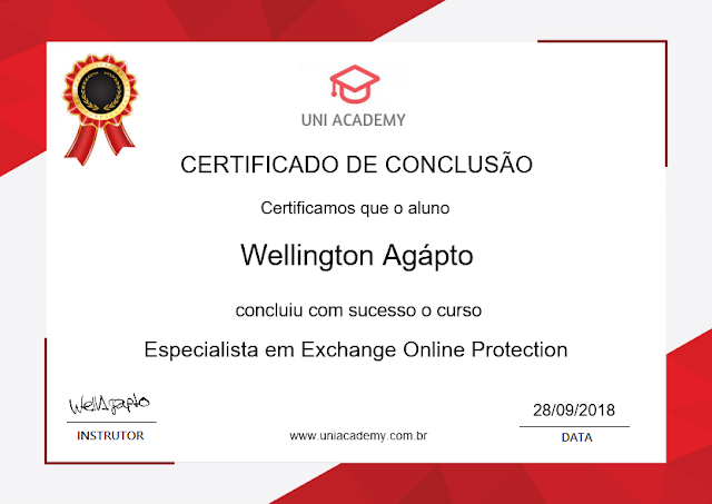 Curso gratuito de Office 365 | Especialista em Exchange Online Protection