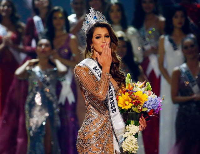 Miss France wins Miss Universe 2016 competition