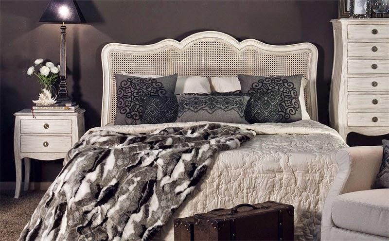 dormitorio completo blanco decape marron