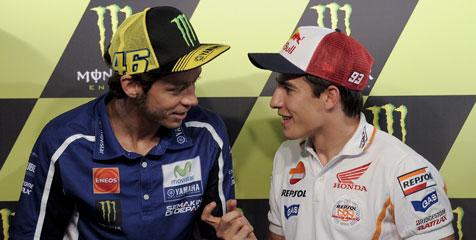 Rossi Dukung Marquez Turun Di MotoGP Dan Moto2