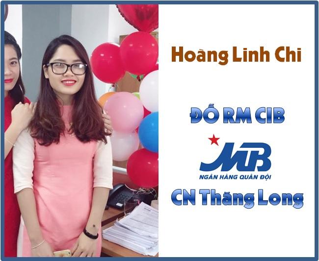 Hoàng Linh Chi - Đỗ RM CIB MB Thăng Long