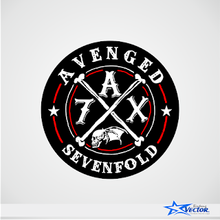 Avenged Sevenfold (A7X) Logo Vector cdr Doenload