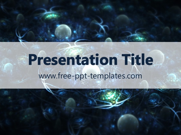 nanotechnology ppt template, Presentation templates