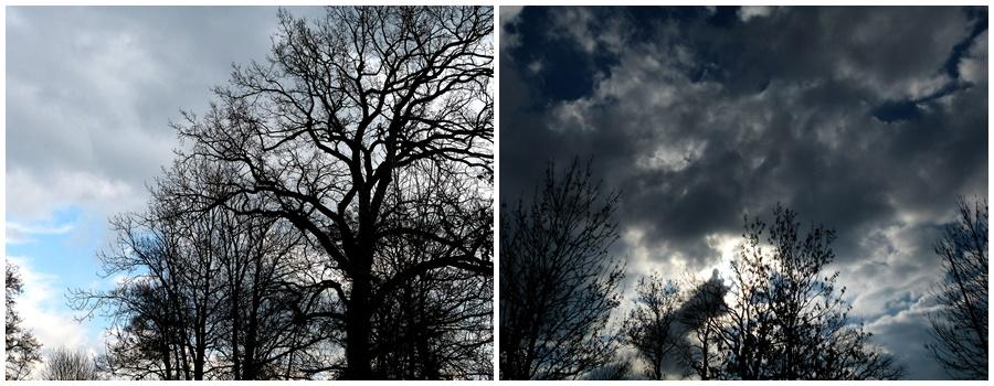 Winterlicher Himmel
