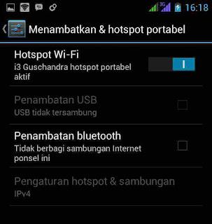 Cara Blokir client hotspot di Android
