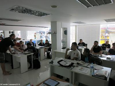 PADI IDC on Phuket, Thailand for October 2016 kicked off