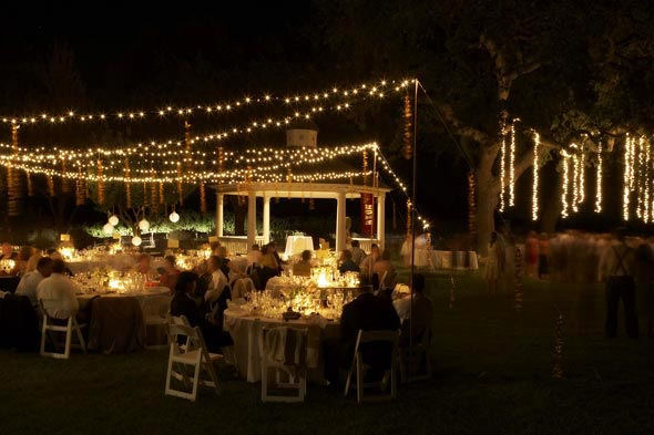 Fall String Lights Wallpaper Weddings Whipley Wedding Under The Blanket Of A Starry Night