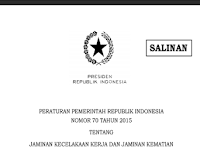 Download PP Tentang Jaminan Kecelakaan Kerja Bagi Guru