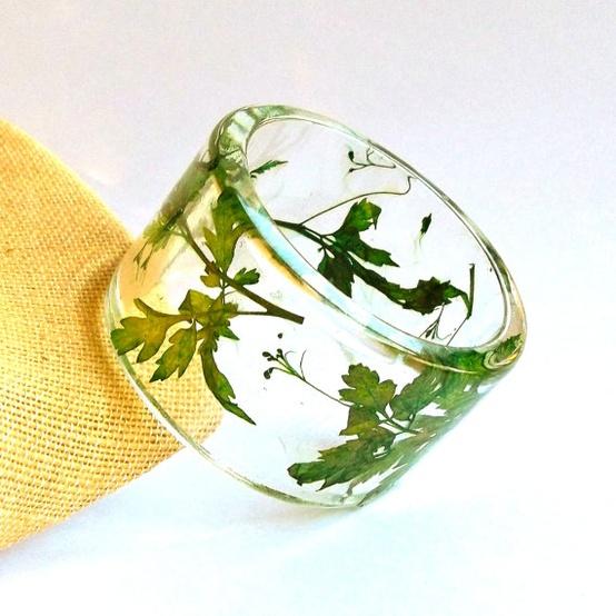 Pulseras encapsuladas con resina cristal