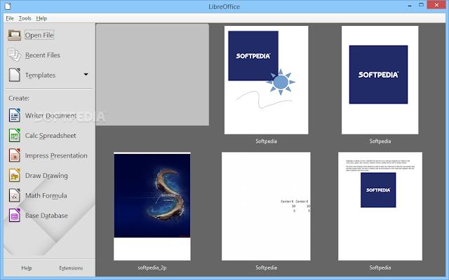 تحميل برنامج فتح ملفات مايكرسوفت اوفيس مجانا للكمبيوتر LibreOffice 5.1