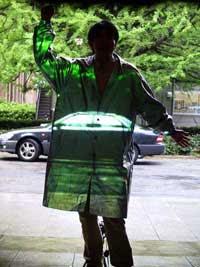 tecnologia para  lograr invisibilidad - capa