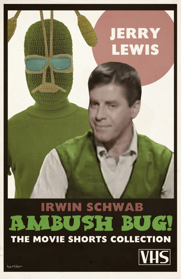 Jerry Lewis Is Ambush Bug