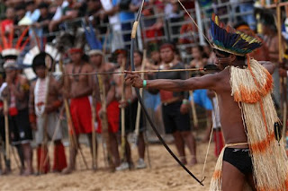 Qualidade de Vida: Brazils tribes compete in Indigenous Games