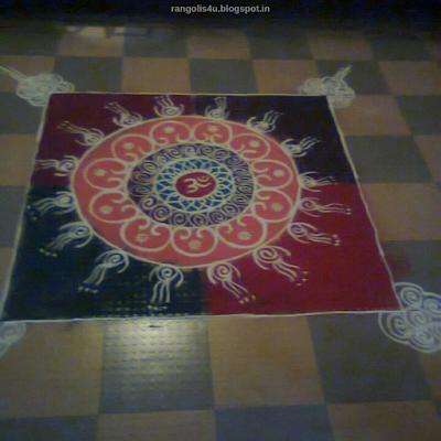 Om Rangolis