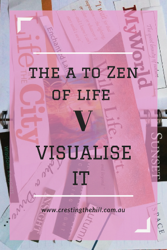 #AtoZChallenge - 2018 and V for Visualise it and focus