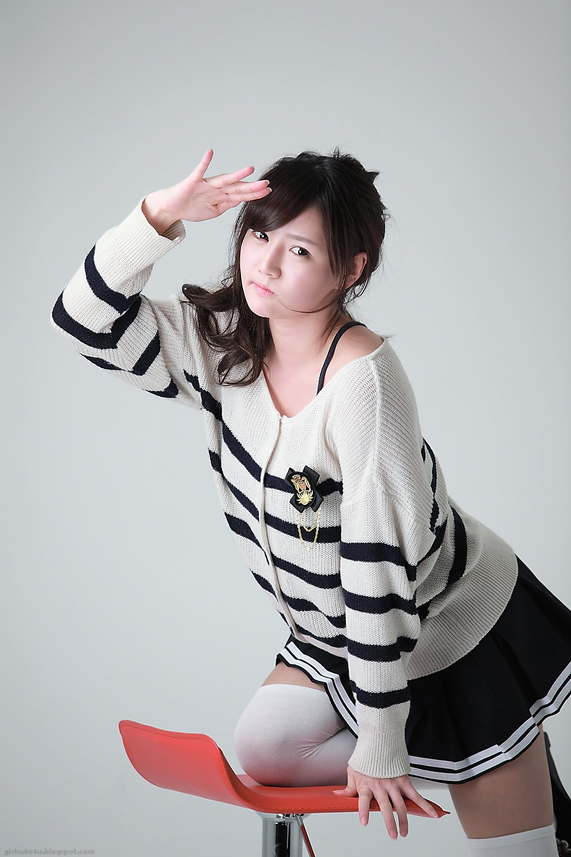 Sweater School Girl Han Ga Eun  Cute Girl - Asian Girl-9042