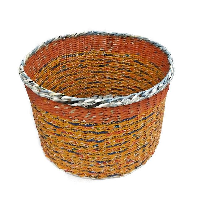 pomarańczowy koszyk