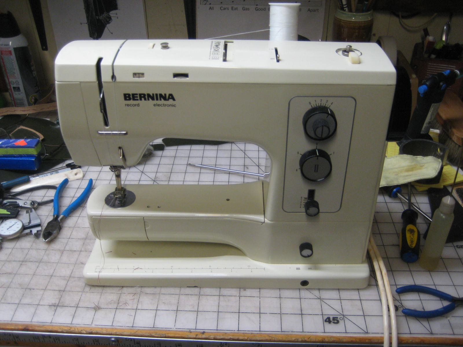 Bernina Model 830 And 831 Manual Sewing Machine Threading Diagram Etc Bobbin Winder These Guaranteed Fit How Do Fix Auto Threader Symbol Shows Gears Sync Door Remained Sergers Ex Your Specific